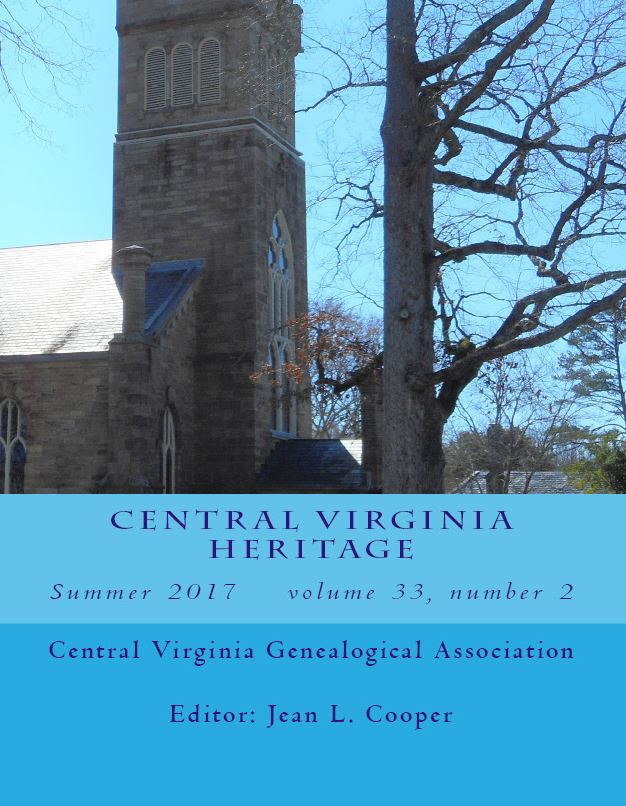 Order a print copy of Central Virginia Heritage, Summer 2017