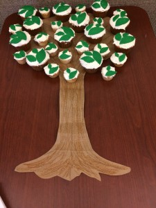 Cupcakes served at the Dec. 13, 2014 meeting.