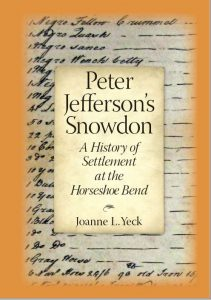 Front cover of Peter Jefferson's Snowdon (2020)