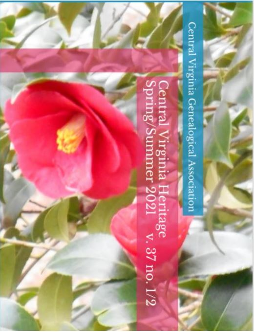 Click here to buy a printed copy of Central Virginia Heritage Spring/Summer 2021 issue today