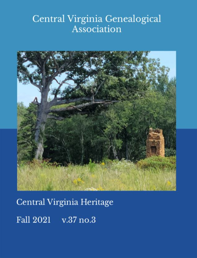 Click here to buy a printed copy of Central Virginia Heritage Fall 2021 issue today